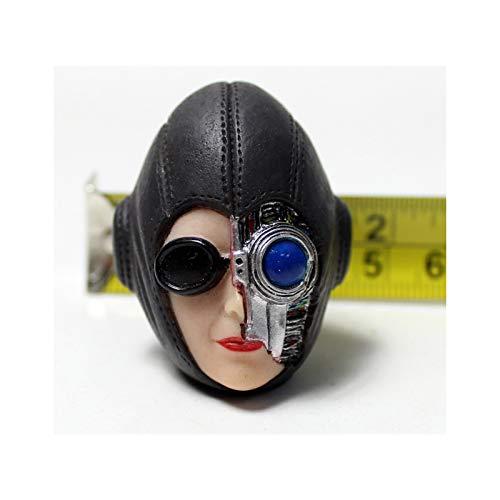 1/6 Soldado Femenino Cabeza Escultura Robot Belleza Cuerpo Accesorios De Personajes Digitales