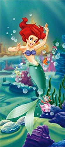 1art1 Arielle Die Meerjungfrau - Und Ihre Fisch-Freunde, 1-Teilig Fototapete Poster-Tapete 202 x 90 cm