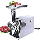 Vech Electric Meat Grinder Mincer, Heavy Duty Sausage Maker Stuffer, Stainless Steel Food Processor...