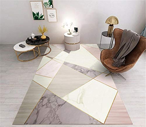 ANSKT kinderkamer woonkamer slaapkamertapijt marmer geometrisch patroon geometrie tapijt