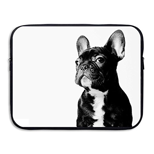 Waterproof Laptop Sleeve Pocket 15 Inch Macbook Air Pro Case Funny French Bulldog Laptop Sleeve Bag For Computer Ultrabook Notebook
