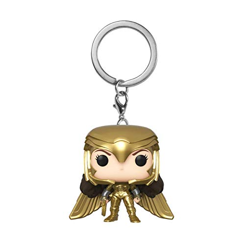 Wonder Woman 1984 Pocket POP! Vinyl Keychain Wonder Woman (Gold Wing) 4 cm