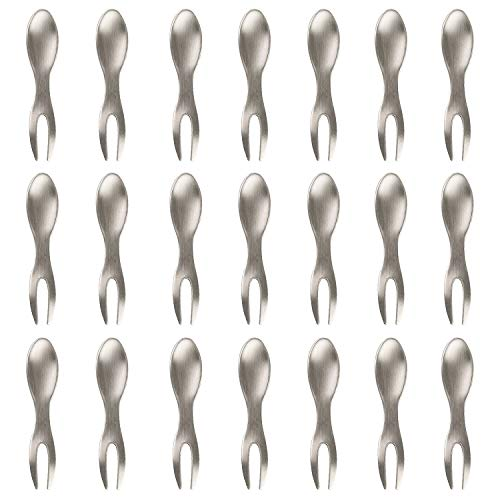 Corn Holders Set of 21 Stainless Steel Corn on The Cob Skewers for BBQ Sweetcorn Holders Home Cooking Fork