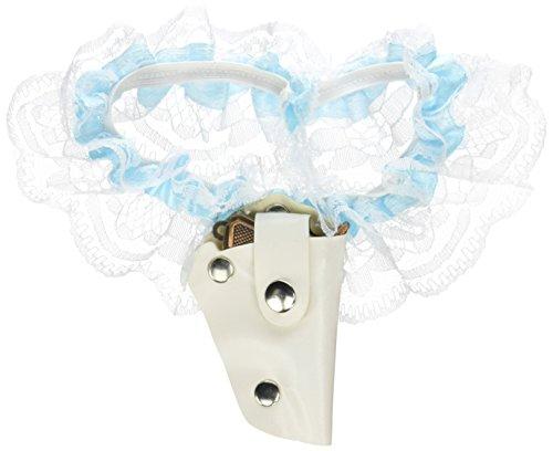 Beistle 66632 Bride's Garter-1 Pc Western-Braut-Strumpfband, Nicht zutreffend, mehrfarbig