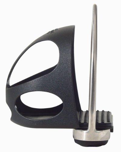 Sicherheits-Steigbügeleinlagen, schwarz Full