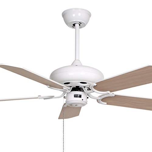 Plafondventilatoren met verlichting, decoratieve plafondventilator, zonder lamp, wit, ventilator, licht, eenvoudige modus, restaurant, werkkamer