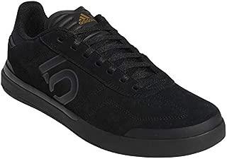 Five Ten Sleuth DLX Men's Mountain Bike Shoe, Size 8.5, Black/Grey SIX/Matte Gold