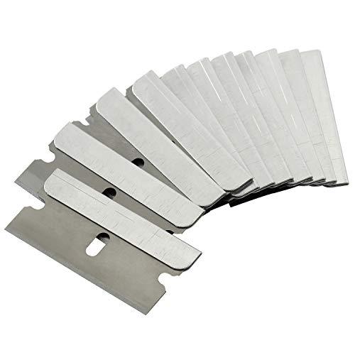 Bates- Single Edge Razor Blade, 50 pc, Razor Blades Scraper, Razor Blades Single Edge, Scraper Blades, Flat Razor Blade, One Edge Razor Blade, Single Sided Razor Blade, Single Edge Blades, Razor blade
