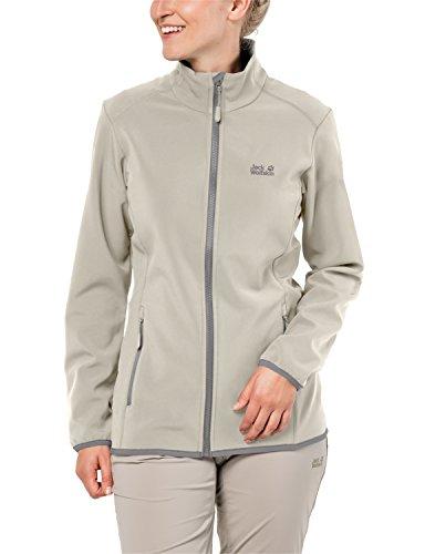 Jack Wolfskin Damen Softshelljacke Essential Altis Women Wasserabweisend Atmungsaktiv Outdoor Funktionsjacke Wanderjacke