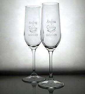 Copas de Cava ANILLOS BODA. Regalo de boda, aniversario y celebraciones. Copas de cava en estuche de presentación. Regalo bonito, elegante y práctico. O puede elegir entre los otros diseños.