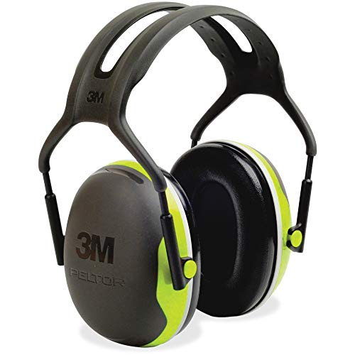 3M Peltor X4A Over-the-Head Ear Muffs, Noise Protection, NRR 27 dB, Construction, Manufacturing, Maintenance, Automotive, Woodworking, Heavy Engineering, Mining