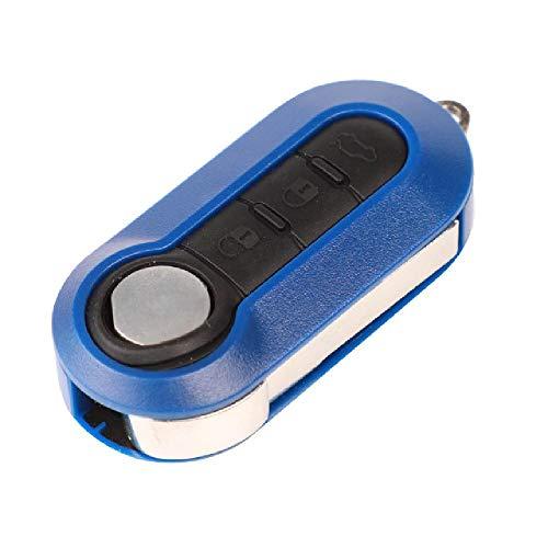 TGBVFlip 3 Botones Carcasa de Llave remota para Lancia Ypsilon Car Alarm Fob Colorful Combo Case
