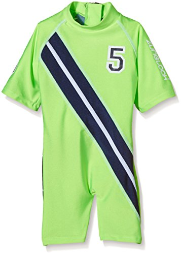 Zunblock UV 50 plus Anzug Stars and Stripes, Lime/Navy, 86/92
