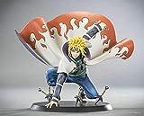 4th New Gen Unique Minato Namikaze Anime Figurine Action Figures Toys Statues 16 cm Accent Portable