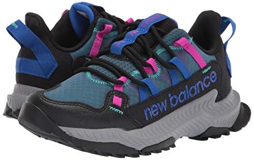 New Balance Women's DynaSoft Shando V1 Sneaker, Black/Cobalt/Poison Berry, 12