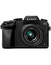 Panasonic DMC-G7KEG-K systeemcamera   12.49 x 7.74 x 8.62 cm   zwart