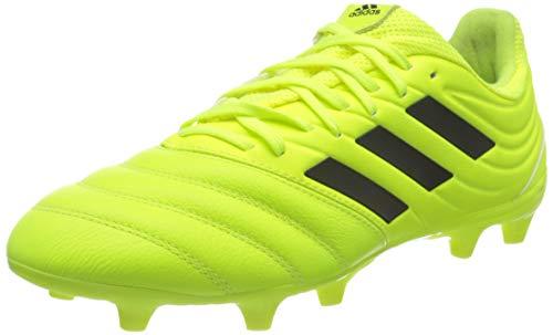 adidas Copa 19.3 FG, Chaussures de Football Homme, Jaune Fluo Noir Jaune Fluo, 44 EU