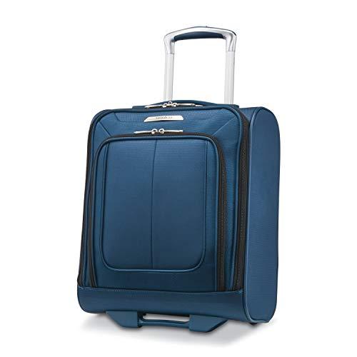 Samsonite Solyte DLX Softside Luggage, Mediterranean Blue, Underseater