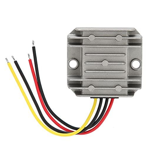 Regulador de Potencia, convertidor Elevador Antivibración para Uso en Diversos entornos hostiles Impermeable para cámaras de vigilancia Impresoras, Ventilador eléctrico