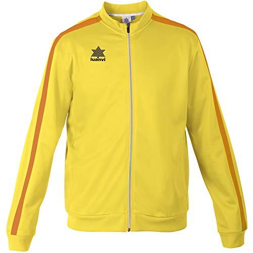 Luanvi Herren Trainingsjacke Gama L gelb