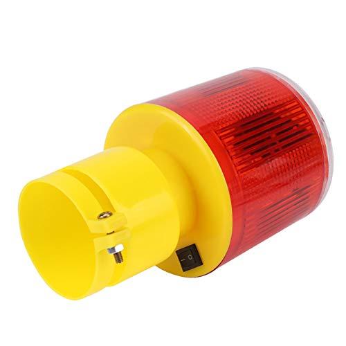 Weikeya Advertencia Luz, Rojo Emergencia Luz 500mAh Construido-en Lámparas 1 PC El plastico