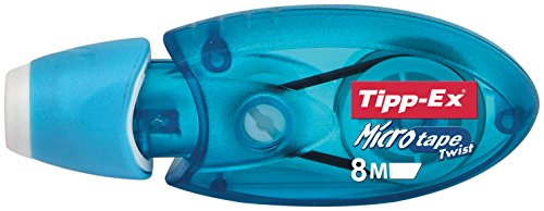 BIC Korrekturroller Tipp-Ex® Microtape Twist, 8 m x 5 mm, blau