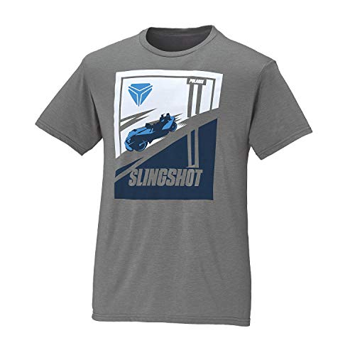 Polaris Slingshot Men's Short-Sleeve Fast T-Shirt, Gray - L