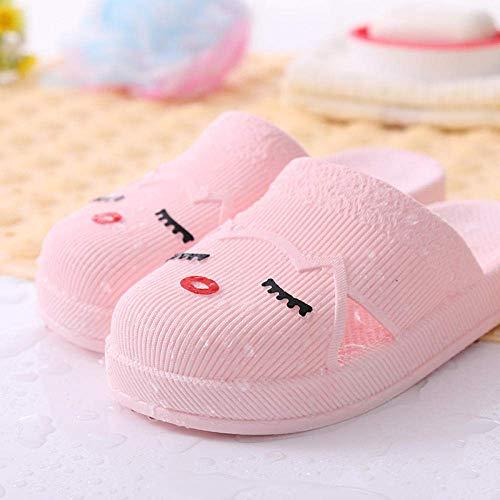 Señoras de Eva del dedo del pie del anuncio del flip-flop, Pareja cubierta de PVC antideslizante sandalias de baño cuarto de baño y zapatillas-apricot_41, Playa tobogán de la piscina de zapatos kshu