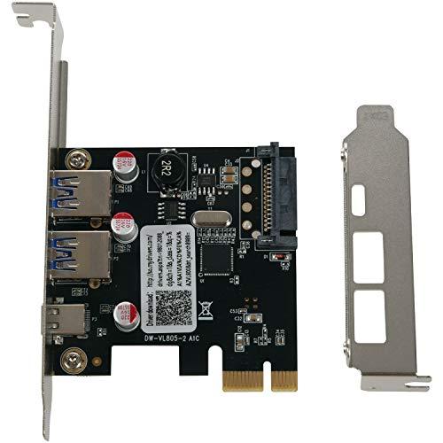 OVBBESS USB 3.1 Typ C Pci Erweiterung...