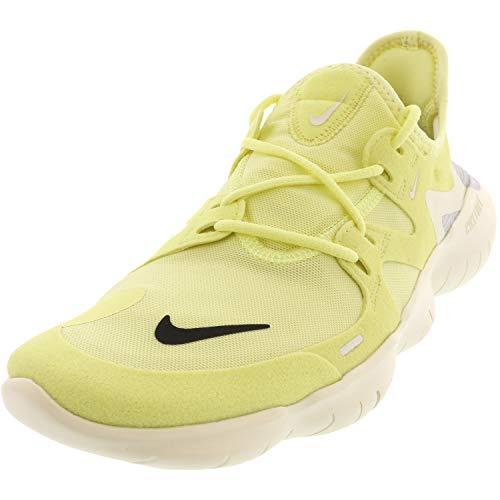 Nike Women's WMNS Free Rn 5.0 Track & Field Shoes, Multicolour (Luminous Green/Black/Sail/Pure Platinum 000), 4.5 UK