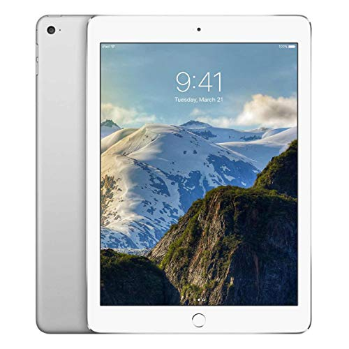 Apple iPad 9.7 (5th Gen) 128GB Wi-Fi - Silver (Renewed)