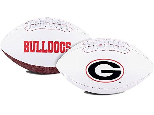 NCAA Game Time Full Size Football , Georgia Bulldogs, Brown, Full Size