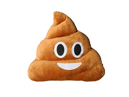 Haufi Poop Kissen Emoticon Kopfkissen in Kackhaufen-Form