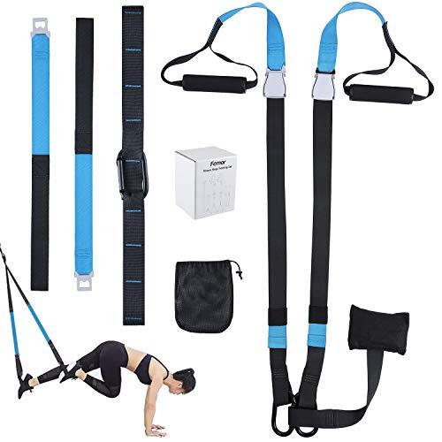 Femor Sling Trainer Set Sangles de Suspension Fitness...