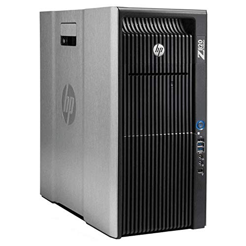 HP Z820 Workstation 2X E5-2670 2.6GHz 8C 48GB No HDD Q2000 (Renewed)