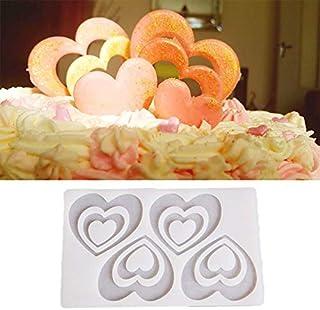 Silicone Baking Tray - Diy Heart Shape Silicone Mold Cake Decorating Moldes De Silicona Para Fondant