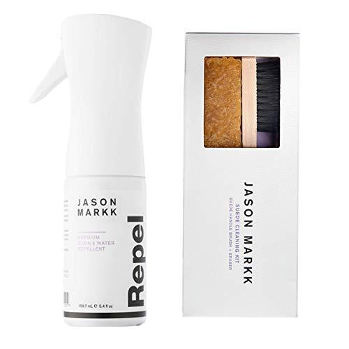 Jason Markk Unisex Repel Shoe Spray and Suede Kit (Combo) White
