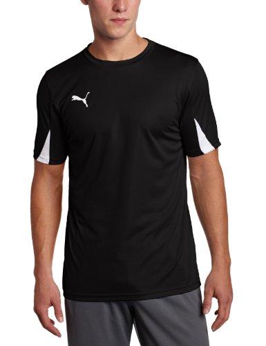 Puma Men's Team Shirts, Youth Small, Black-White