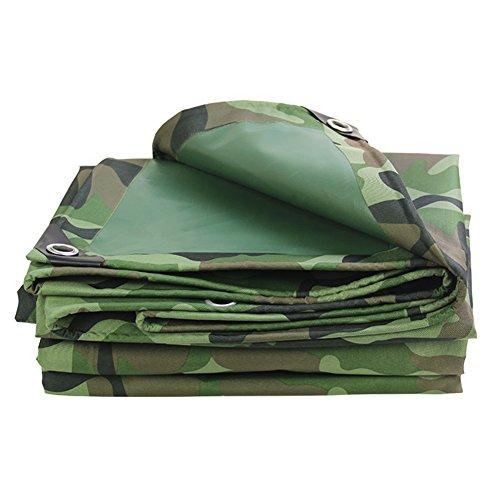 Yxsd Camouflage Épaissir Imperméable À l'eau Bâche Tissu d'Oxford en Plein Air Couverture De Voiture 420g g (épaisseur 0.45MM) (Size : 2.8 * 2.8m)