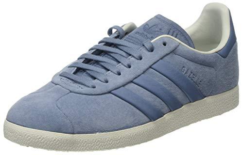 adidas Gazelle S&T, Zapatillas Hombre, Gris (Raw Grey/Raw Grey/Off White 0), 38 EU