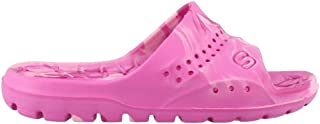 Skechers 女童,Hogan Color Splashed Slide 凉鞋