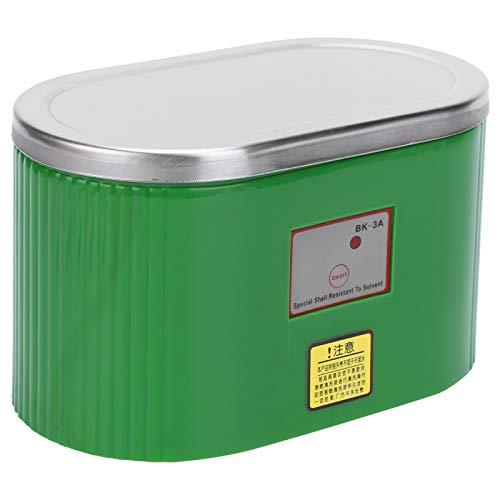 Limpiador ultrasónico, Arandela ultrasónica, Lavadora de Joyas, para Placas de Circuito Componentes electrónicos Lentes de cámara(European Standard 220V)