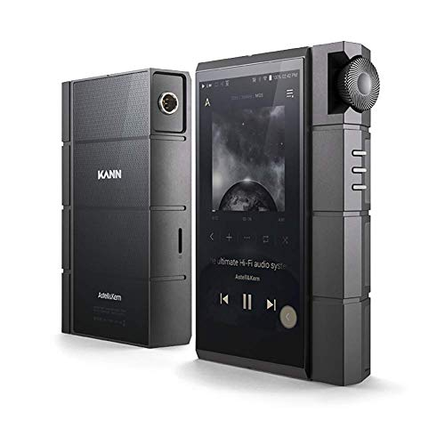 Astell & Kern KANN Cube Hochauflösender Musik-Player, Dual ES9038PRO DAC, Mini-XLR-Ausgang, Integrierter 128-GB-Speicher, WLAN, aptX-HD, KANNs Neuester MP3-Player