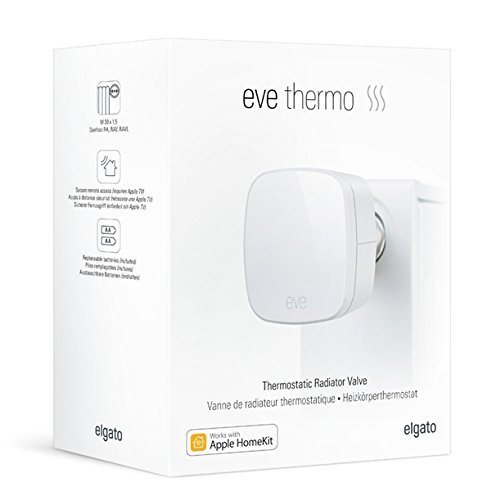 Elgato Eve Thermo - App-Enabled Thermostatic Radiator Valve
