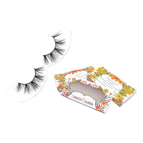 Hochvolumige Nerzwimpern Grausamkeitsfreie Arison Lashes 3D Nerz Falsche Wimpern 1 Paar (D82)