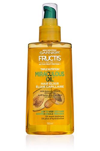 Beauty Shopping Garnier Hair Care Fructis Triple Nutrition Marvelous Oil Hair Elixir, 5.0 fl oz.