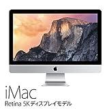 APPLE(アップル) iMac Retina 27-inch Intel Quad-Core i5 3.3GHz/DDR3 8GB/1TB
