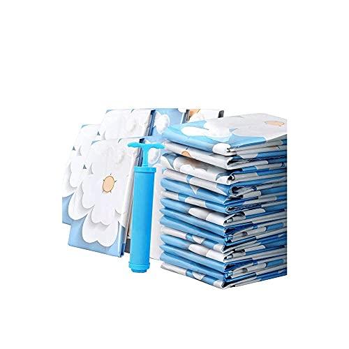 WYJRF Bolsa de Almacenamiento: Paquete de 6 Bolsas de Almacenamiento al vacío, Adecuada para selladores de Bolsas para Ropa, edredones, Ropa de Cama, Almohadas, Mantas, Cortinas (Alta ca