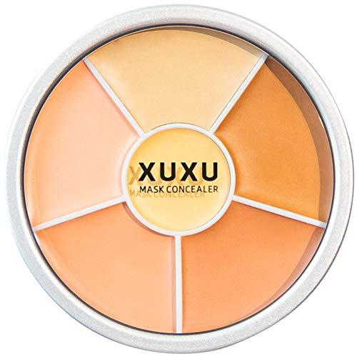 6-color Contours Cream Palette Peau Uniformité Tonique Peau Blemishes Brighten Effects Crème Correcteur