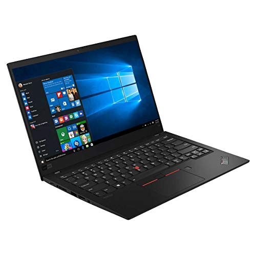 Lenovo ThinkPad X1 Carbon 14' FHD IPS Laptop, Core i7-8665U, IR Webcam, Backlit Keyboard, USB-C, Thunderbolt 3, HDMI, Intel UHD Graphics, Windows 10 Home, 16GB RAM, 512GB PCIe SSD, WOOV 32GB MSD Card